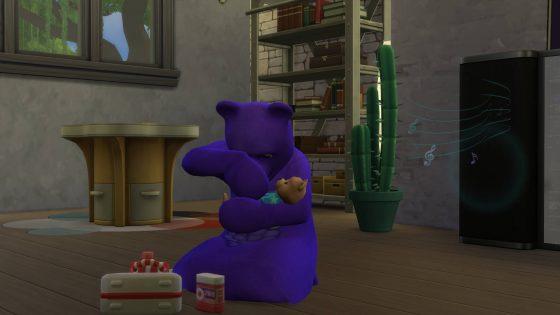 """De Sims 4 Ouderschap: """"Ik ben een beer!""""-kinderfase"""
