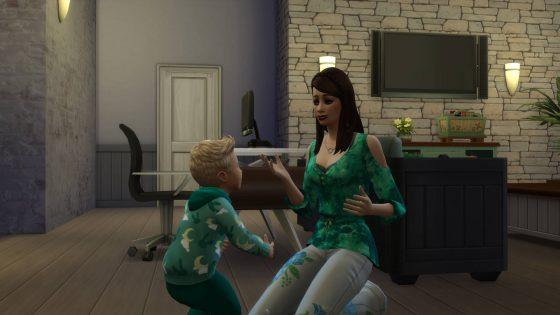 De Sims 4 Ouderschap: Sorry leren te zeggen