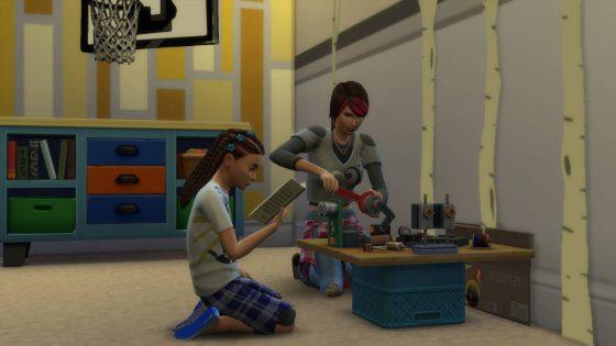 De Sims 4 Ouderschap: Schoolprojecten