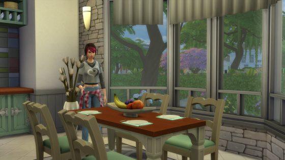 De Sims 4 Ouderschap: Dekken van de tafel
