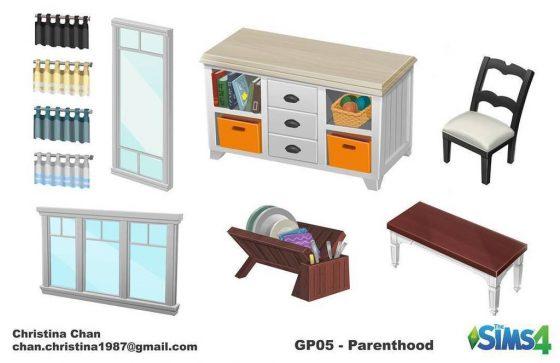 De Sims 4 Ouderschap: Concept art