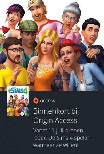 De Sims 4 komt naar Origin Access