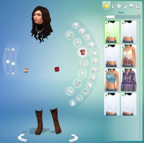 Teaser van de Creëer-een-Sims items uit De Sims 4 Wasgoed Accessoires