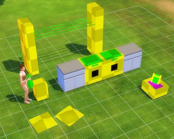 Een eerste blik op de gameplayvoorwerpen uit De Sims 4 Wasgoed Accessoires