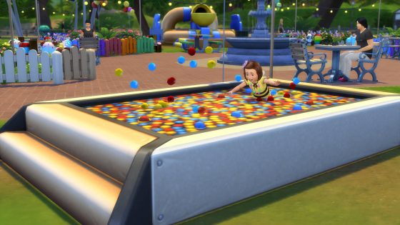 De Sims 4 Peuter Accessoires: Ballenbak