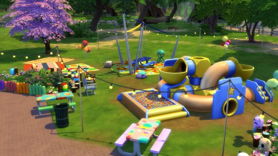 De Sims 4 Peuter Accessoires: Voorwerpen