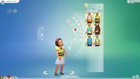De Sims 4 Peuter Accessoires: Creëer-een-Sim tops meisjes