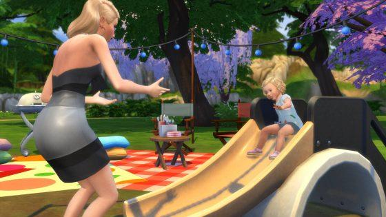 De Sims 4 Peuter Accessoires: Glijbaan