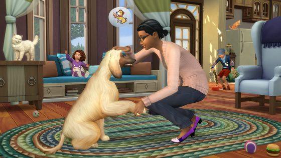 De Sims 4 Honden en Katten voor de console geteased