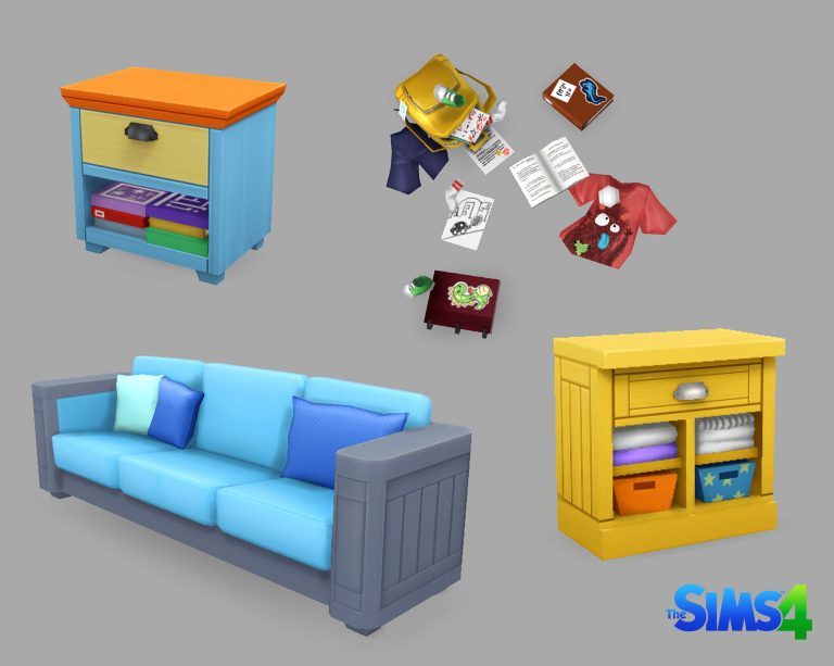 De Sims 4 Ouderschap concept art