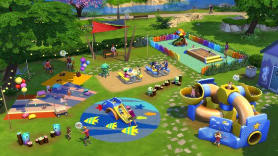 De Sims 4 Peuter Accessoires