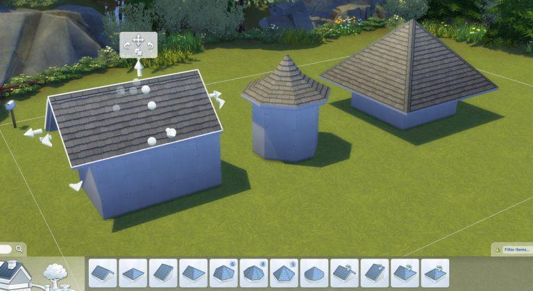 SimGuruHouts teaset de verschillende nieuwe dakstijlen die komen met De Sims 4 Honden en Katten