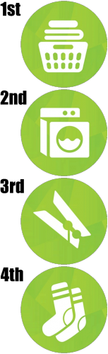 De wasmand wordt het icoontje voor De Sims 4 Wasgoed Accessoires.