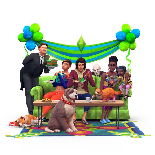 De Sims 4 bestaat vandaag drie jaar!