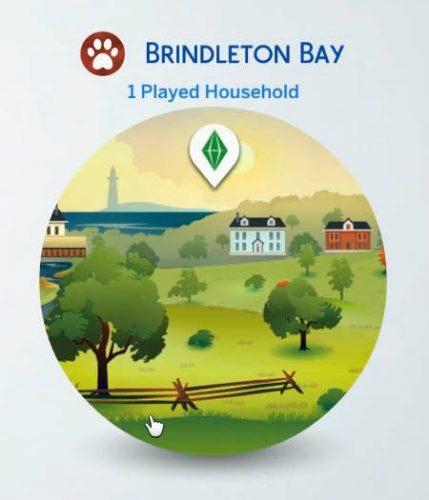 Het icoontje van Brindleton Bay