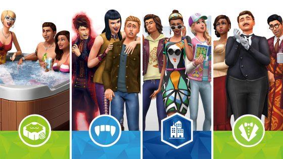 Alle DLC die naar De Sims 4 Console komt