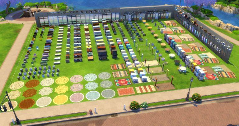 Alle voorwerpen uit De Sims 4 Wasgoed Accessoires