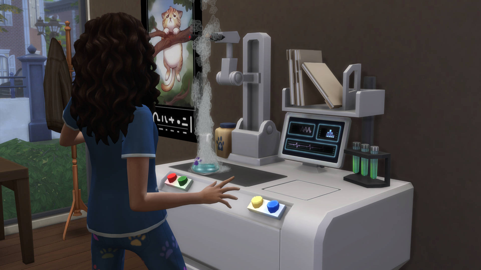 Labwerk verrichten op de medicijnmaker