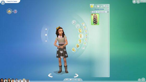 Creëer-een-Sim: Outfits voor meisjes