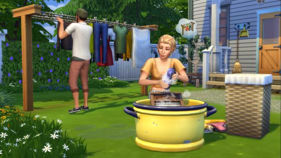 De Sims 4 Wasgoed Accessoires vanaf nu verkrijgbaar