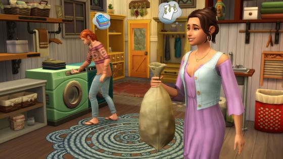 Vrijdagavond De Sims 4 Wasgoed Accessoires livestream