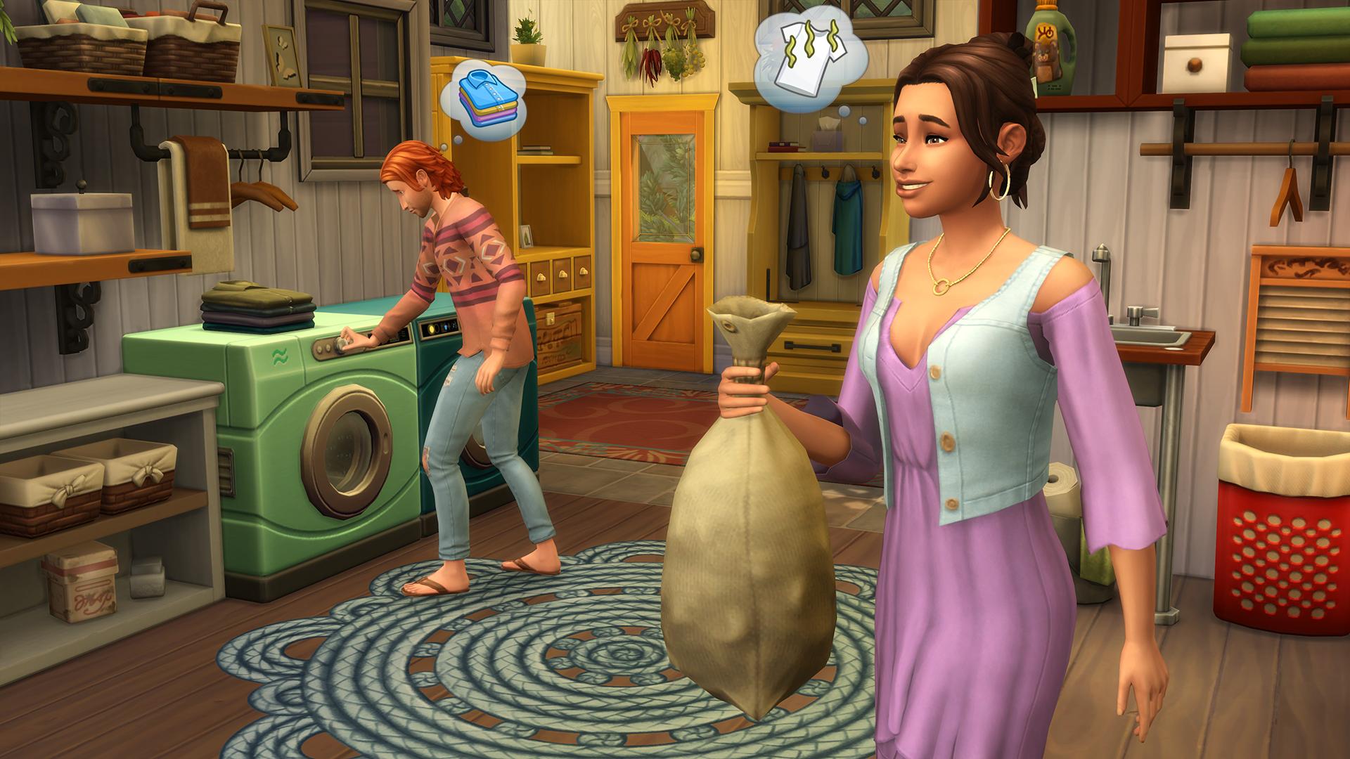 De Sims 4 Wasgoed Accessoires