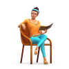 De Sims 4 Wasgoed Accessoires render
