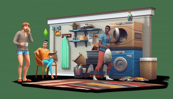De Sims 4 Wasgoed Accessoires renders
