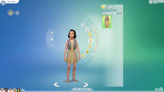 Creëer-een-Sim: Jurk voor kinderen