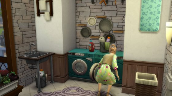 SN Review: De Sims 4 Wasgoed Accessoires