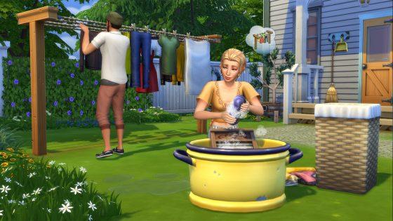 De Sims 4 Wasgoed Accessoires komt deze maand naar de console
