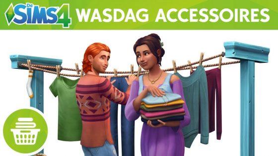 De Sims 4 Wasgoed Accessoires aangekondigd!
