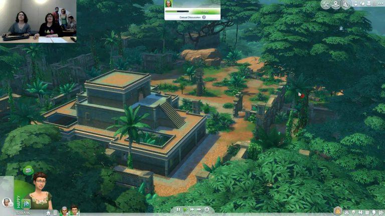 Verborgen tempel