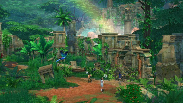 De Sims 4 Jungle Avonturen