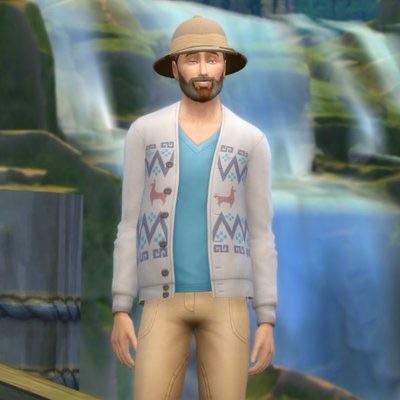 SimGuruNinja verandert avatar voor De Sims 4 Jungle Avonturen