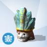 Turquoise Masker van Khaas