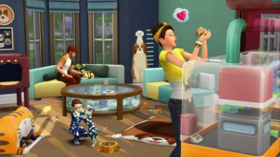 De Sims 4 Mijn Eerste Huisdier Accessoires vraag en antwoord