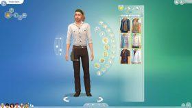 Creëer-een-Sim: tops voor mannen