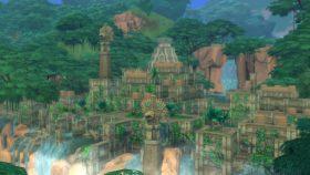 Verlaten tempel