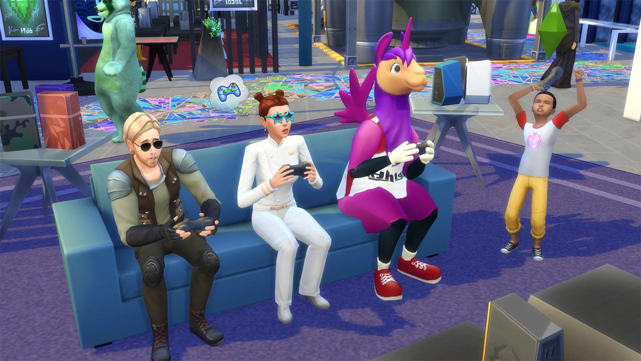 De Sims 4 console