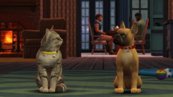 De Sims 4 Honden en Katten komt naar de console