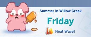 Eerste afbeeldingen van de kalender uit De Sims 4 Jaargetijden