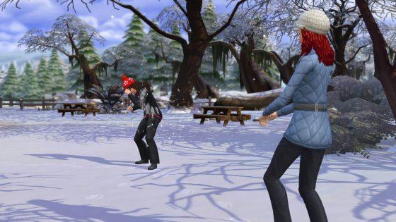 Mijn eerste uren met De Sims 4 Jaargetijden