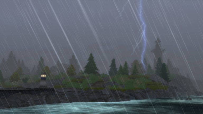 De Sims 4 Jaargetijden: Blikseminslag