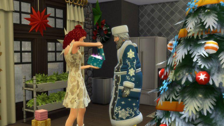 De Sims 4 Jaargetijden: Vadertje Winter