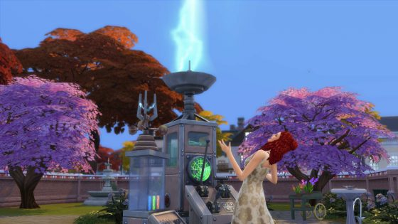 De Sims 4 Jaargetijden: Dr. Harma's Weerbesturing