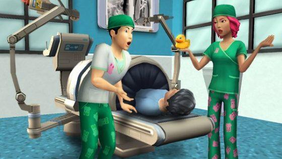Chirurgie carrière deze week te ontgrendelen in De Sims Mobile
