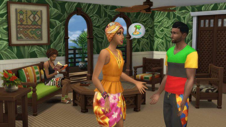 De Sims 4 Caribische update