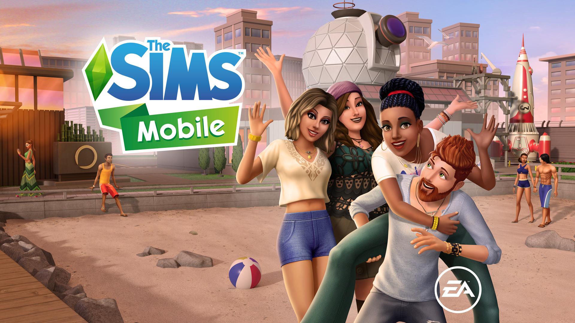 De Sims Mobile Waterkant