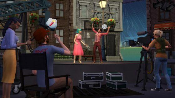 Vanavond De Sims 4 Word Beroemd livestream over Creëer-een-Sim en acteren